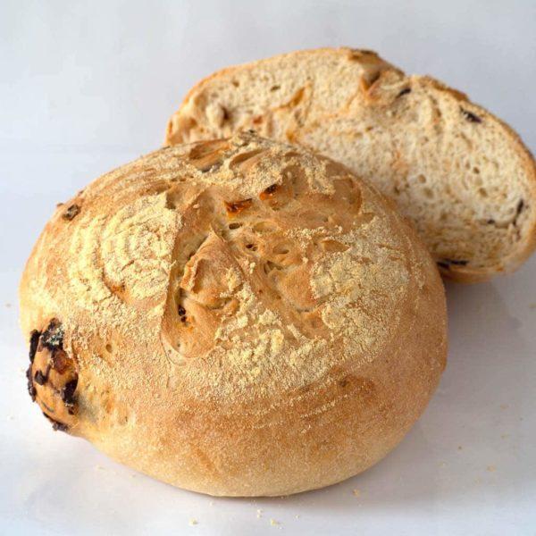 Wheat Bread with Tomato &Olive - Landhaus Bakery Bangkok