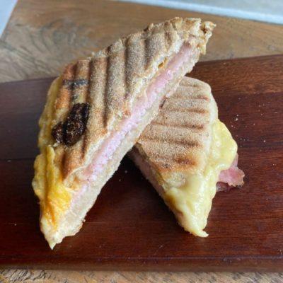 Panini Ham Cheese - Landhaus Bakery Bangkok