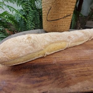 Rustical Baguette made with Sourdough