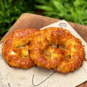 pretzel with cheese - Landhaus Bangkok