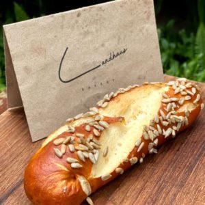 Pretzel Stick with sunflower seeds - Landhaus Bakery Bangkok